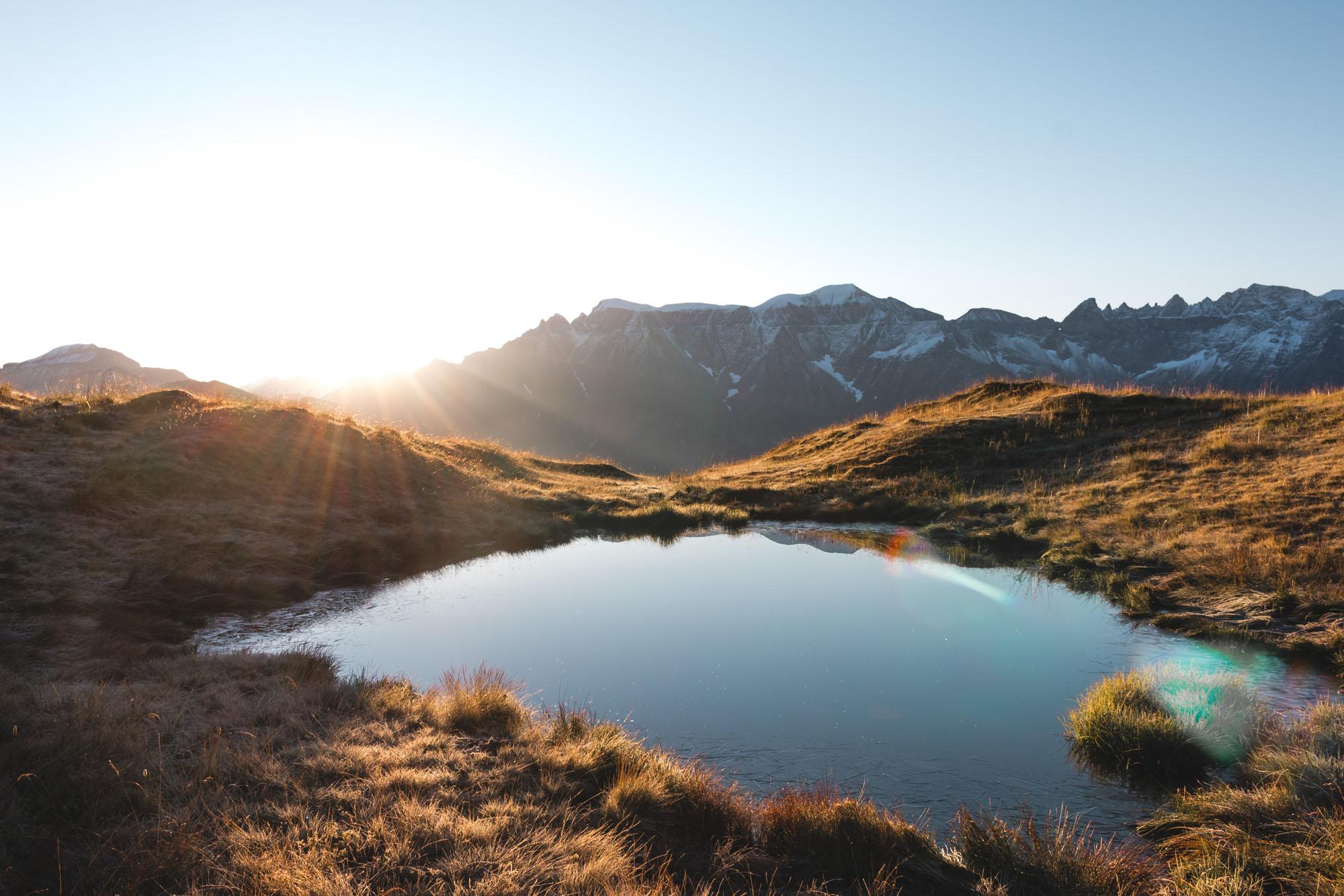 Schweizer Berge Valentin Graf